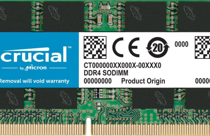 16GB Single DDR4 2400 MT/s (PC4-19200) DR x8 SODIMM 260-Pin Memory (Install Included)